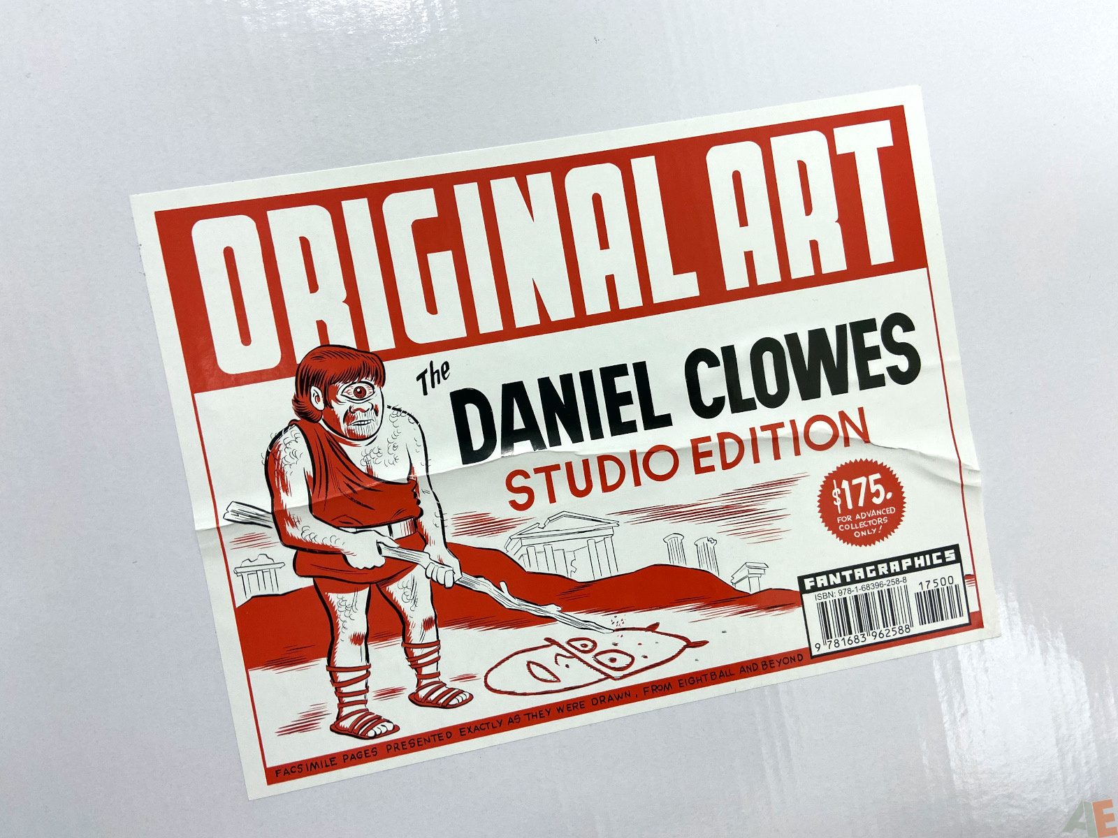 Original Art Daniel Clowes Studio Edition interior 26