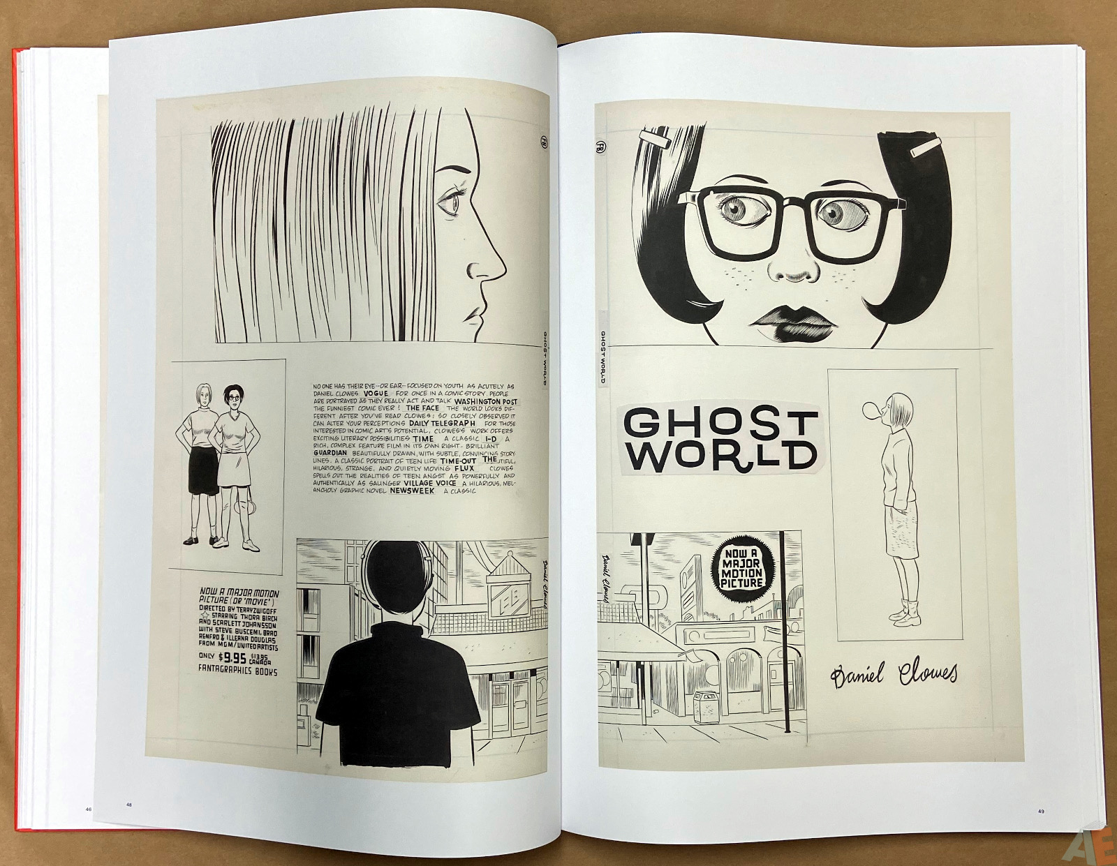 Original Art Daniel Clowes Studio Edition interior 8