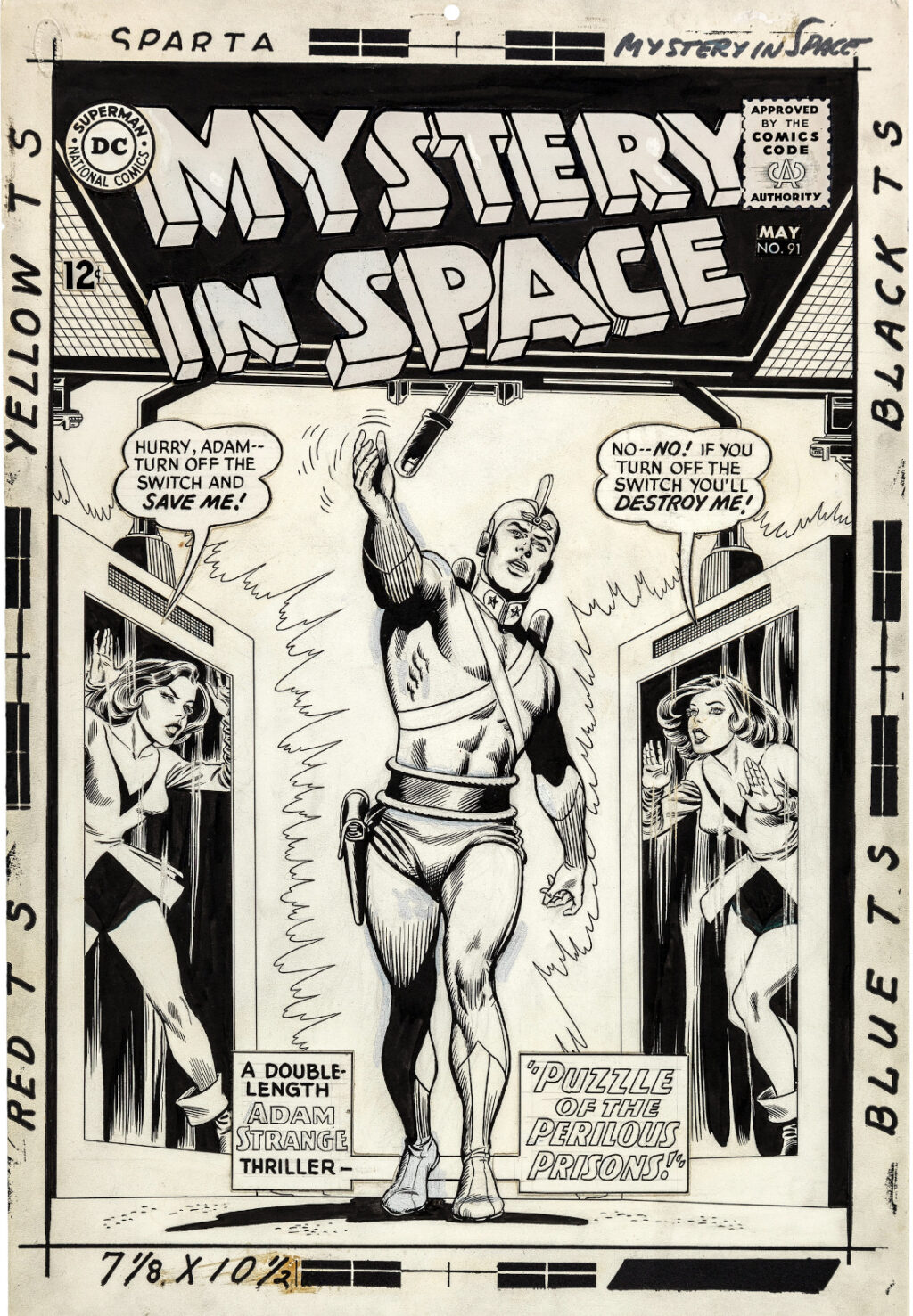 Mystery In Space issue 91 by Carmine Infantino and Murphy Anderson