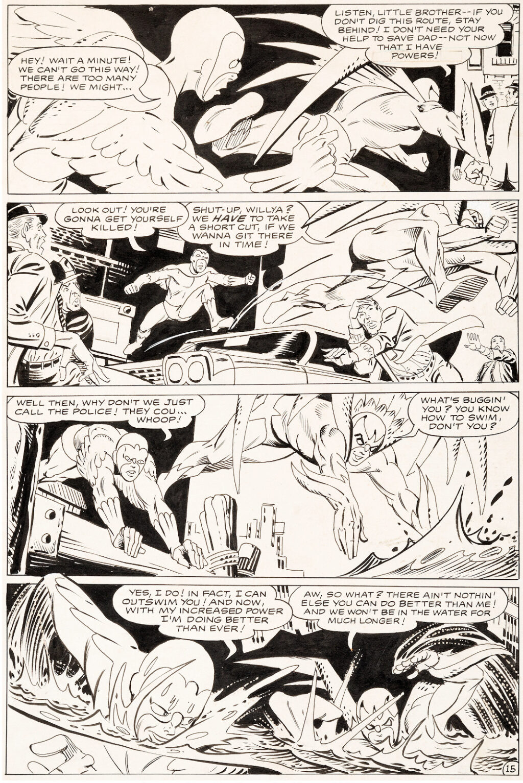 Showcase issue 75 page 15 by Steve Ditko
