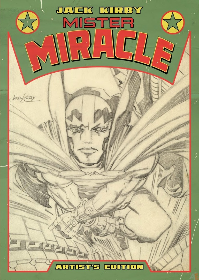 Jack Kirby Mister Miracle Artist's Edition variant cover