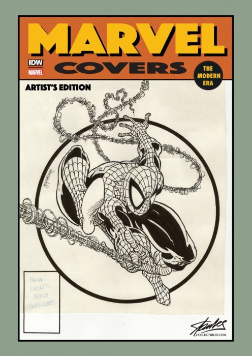 Marvel Covers The Modern Era Artists Edition Stan Lee Collectibles B Variant Cover