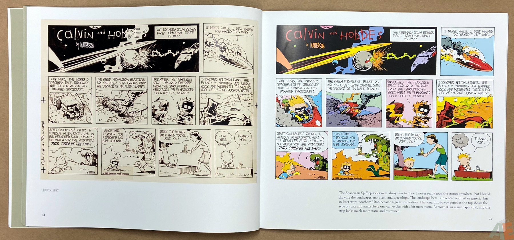 Calvin and Hobbes Sunday Pages 1985 1995 interior 4
