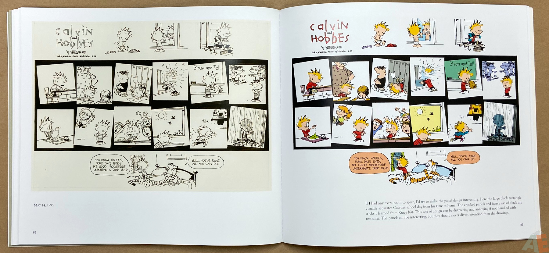 Calvin and Hobbes Sunday Pages 1985 1995 interior 8