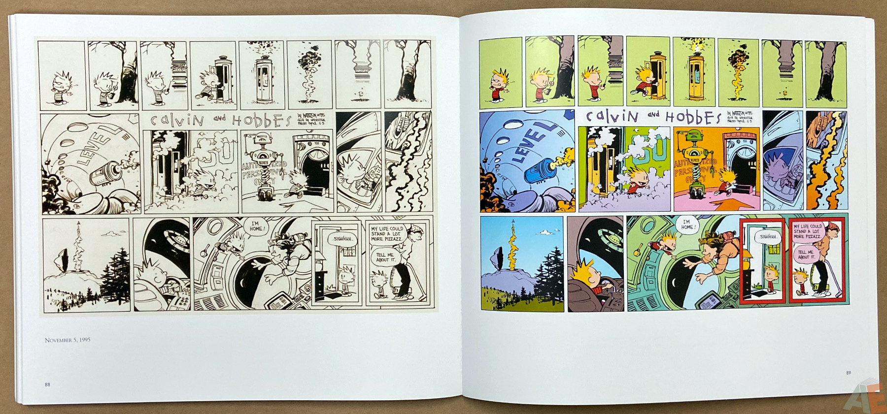 Calvin and Hobbes Sunday Pages 1985 1995 interior 9