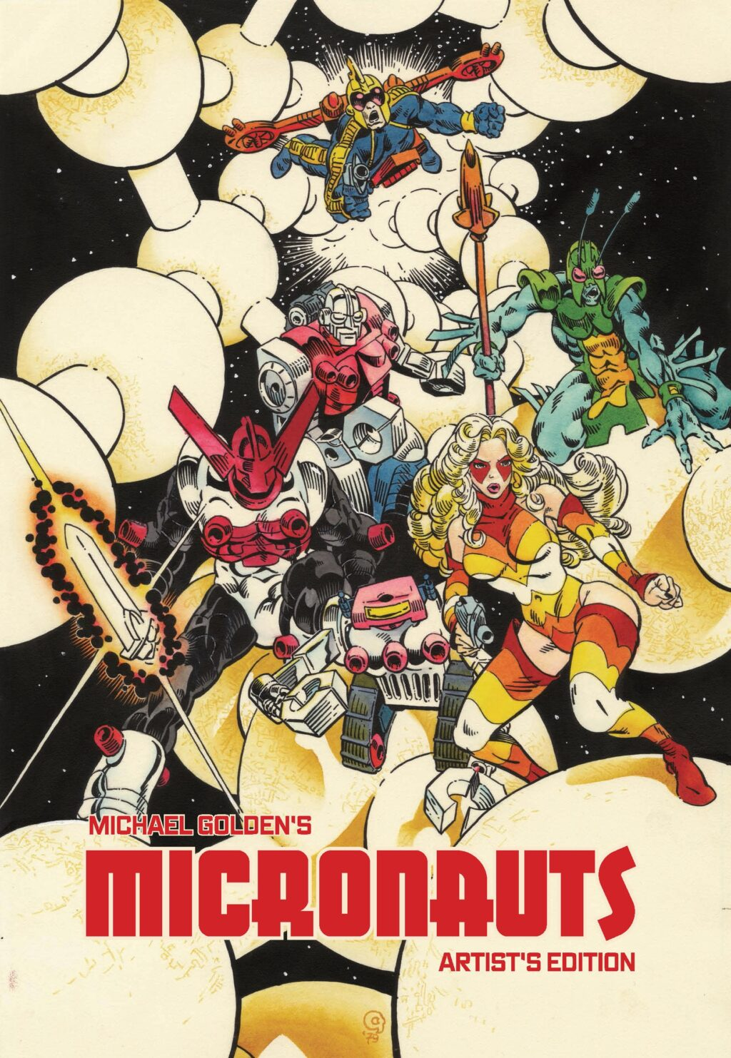 Michael Goldens Micronauts Artists Edition variant cover