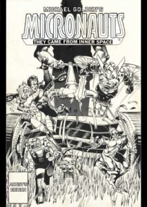 Michael Goldens Micronauts Artists Edition cover