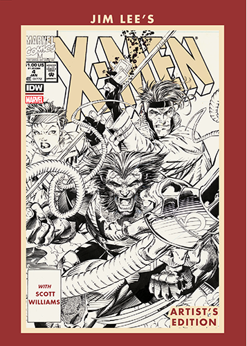Jim Lees X Men Artists Edition Fan Expo Variant cover