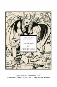 The World of John Buscema Cart Gallery Masters Books 1 cover