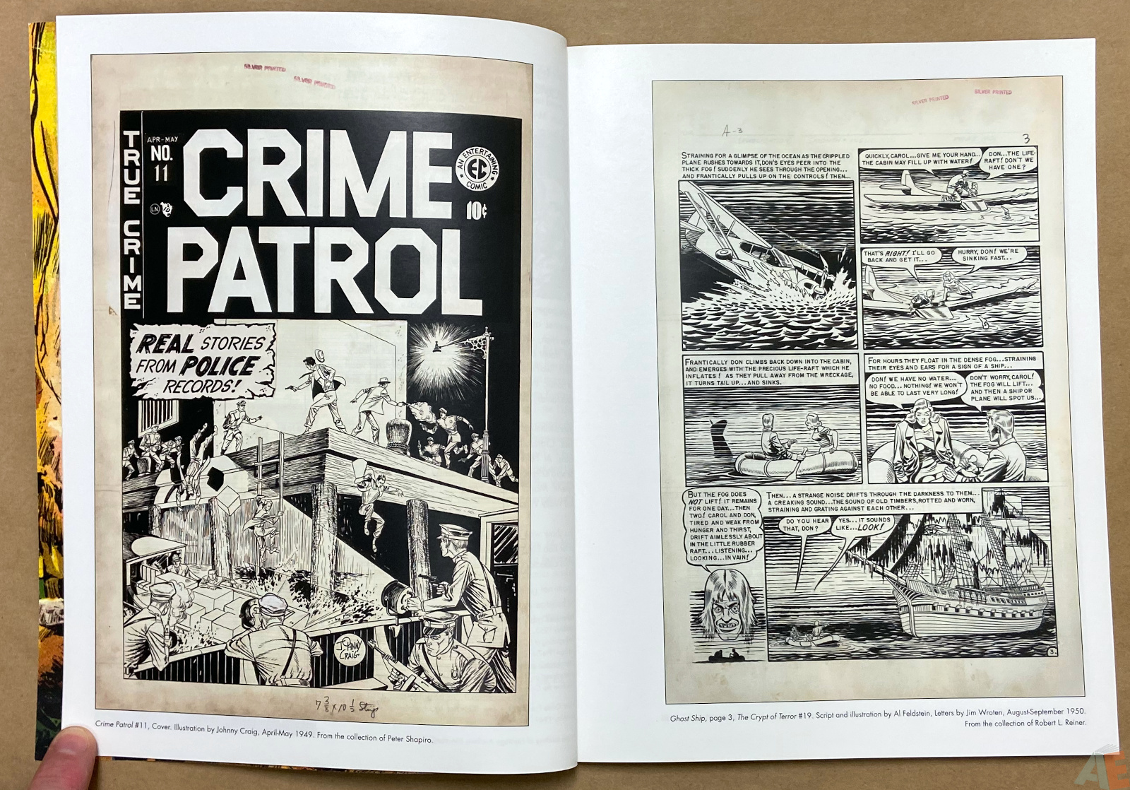 Tales From The Crypt Exhibition Catalog interior 2