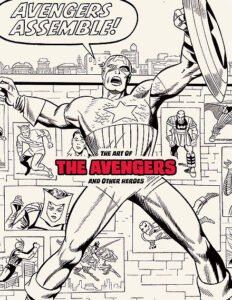 The Art of The Avengers and Other Heroes Exhibition Catalog cover