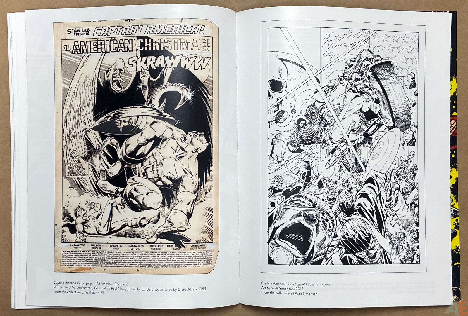 The Art of The Avengers and Other Heroes Exhibition Catalog interior 7