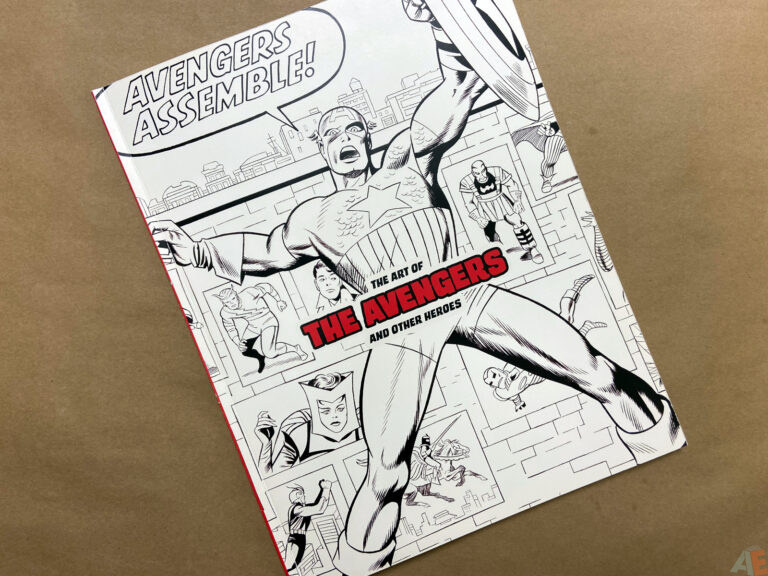The Art of The Avengers and Other Heroes Exhibition Catalog interior 8