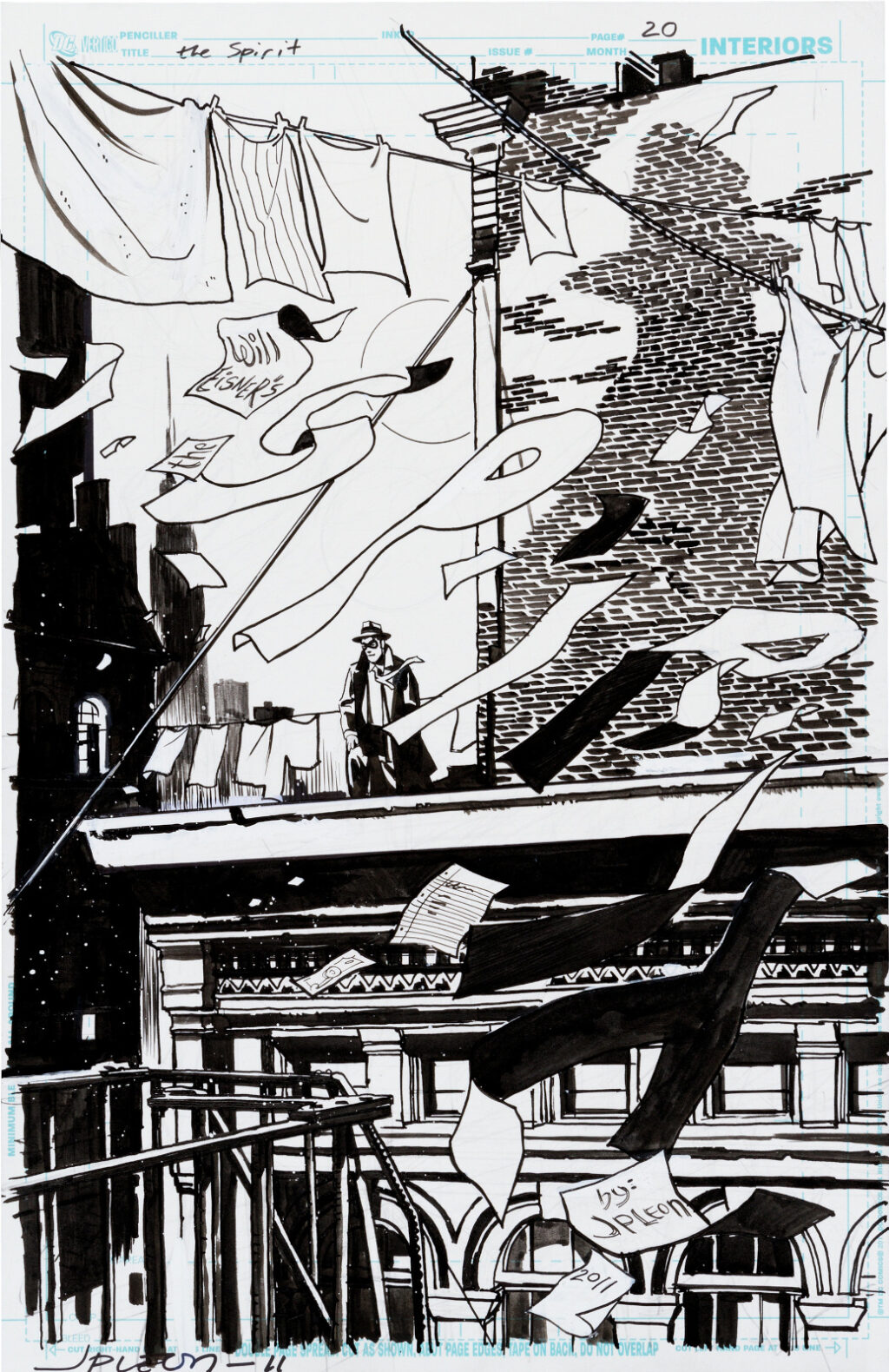 The Spirit issue 16 page 20 by John Paul Leon