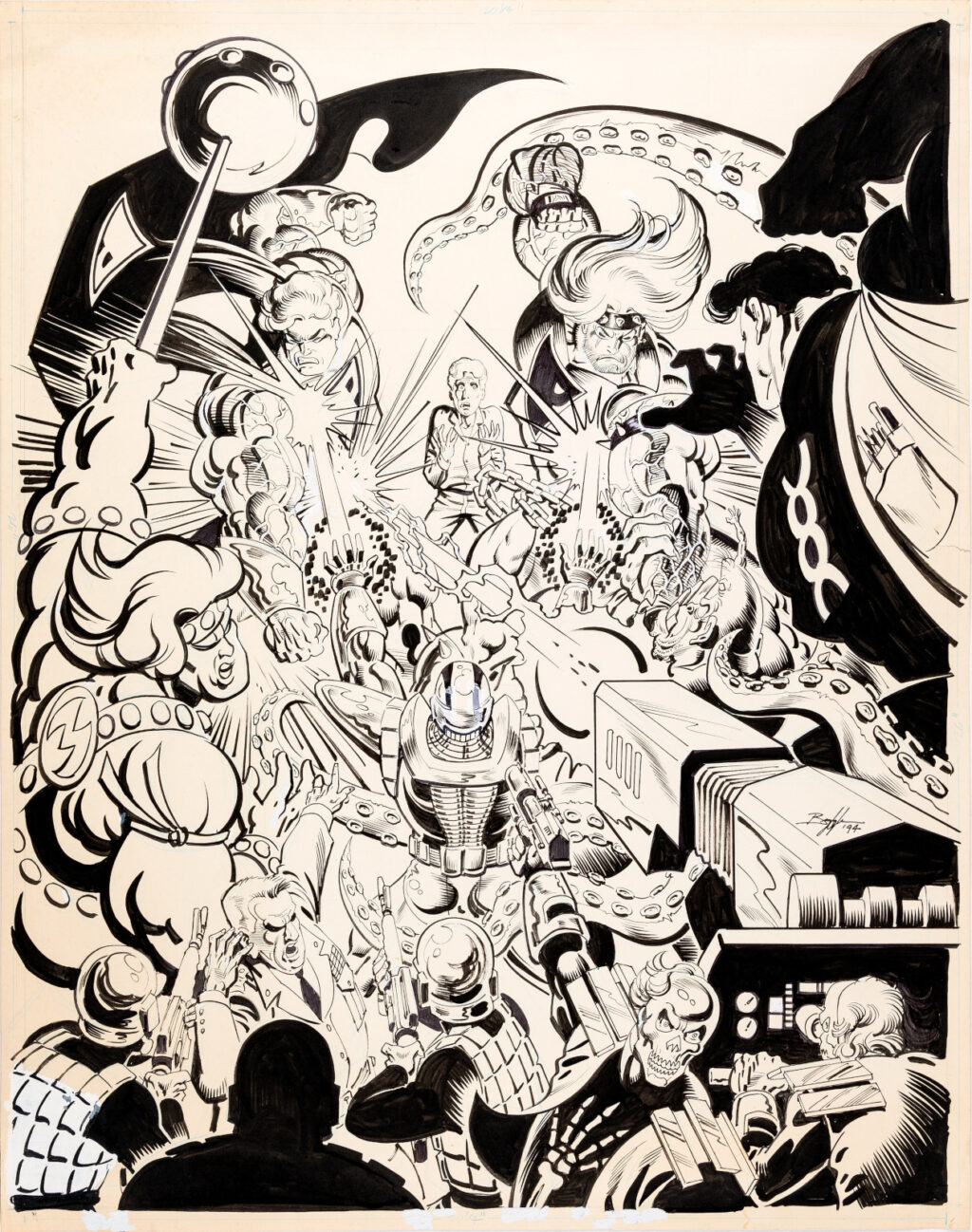 Ultraverse Retail Poster by Norm Breyfogle