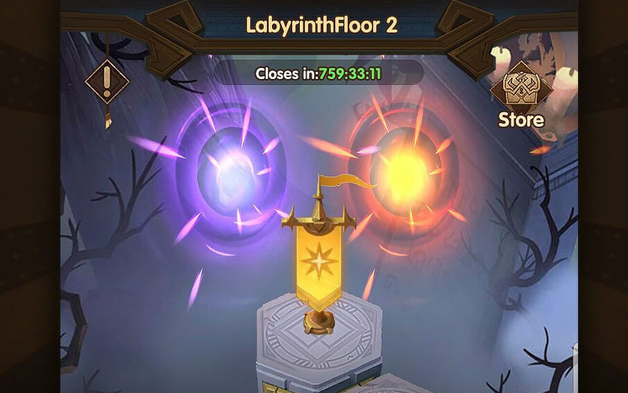 afk arena labyrinth