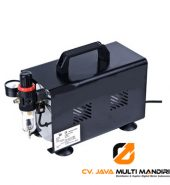 Oil Free Airbrush Compressor AS19B with cover