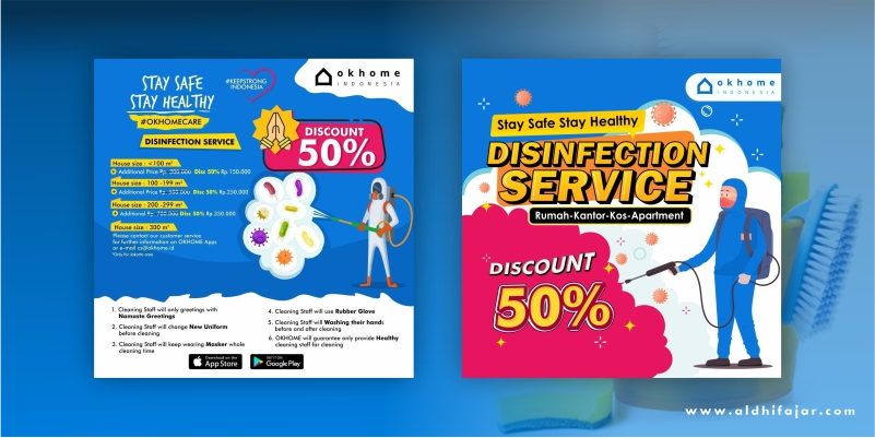 Promo Diskon Disinfection Service