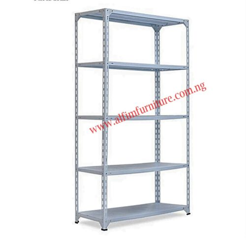 bolted steel shelving