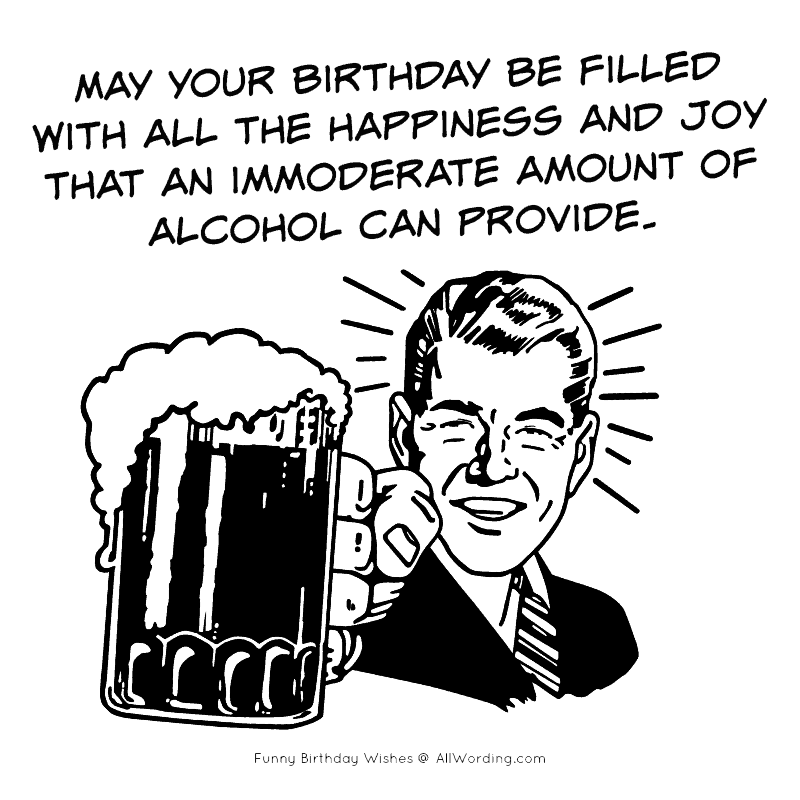 The Ultimate No Holds Barred List Of Funny Birthday Wishes Allwording Com