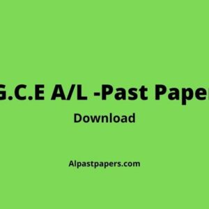 2019 General English Past Paper