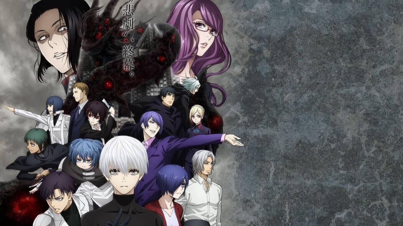 Tokyo Ghoul:re (S2) Subtitle Indonesia Batch (Episode 01-12)