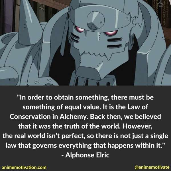 Alphonse Elric Quotes 1