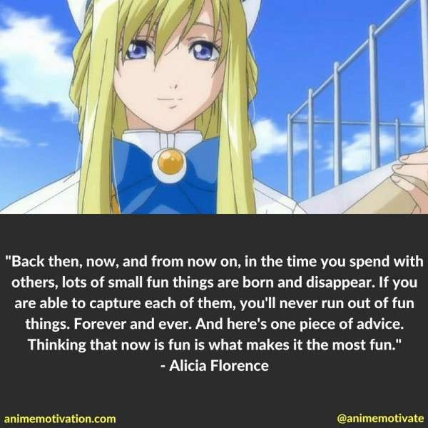 Alicia Florence Quotes 1