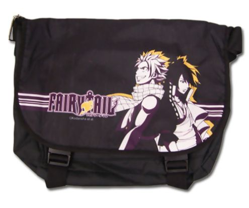 Natsu and Zeref Fairy Tail Messenger Bag