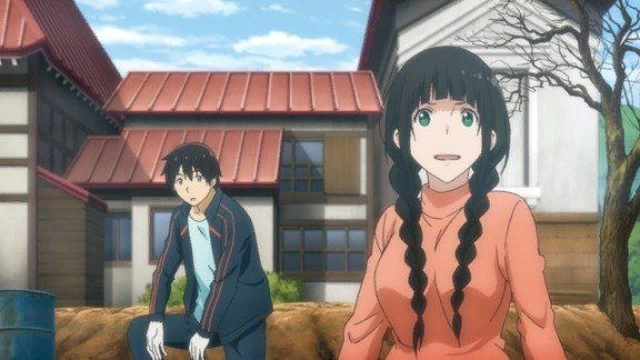 flying witch makoto and kei