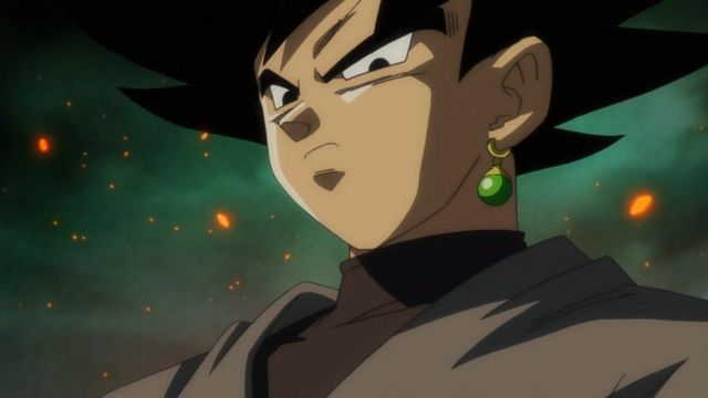 Black Goku dragon ball super