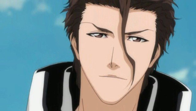 Sosuke aizen bleach anime
