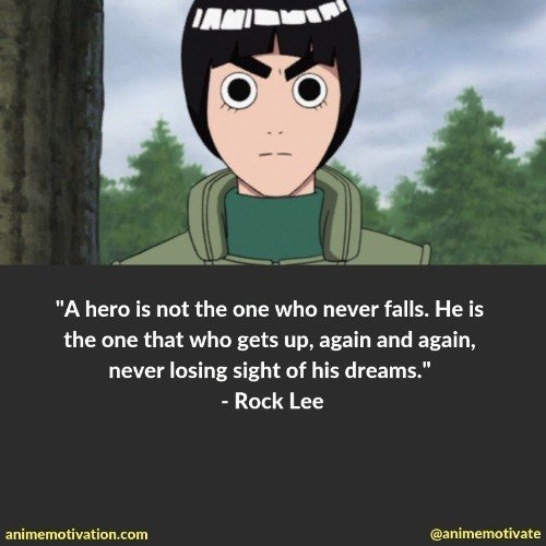 rock lee quotes 2