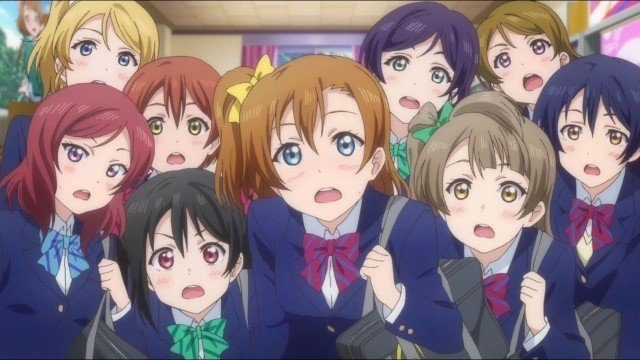 love live school idol project characters cute