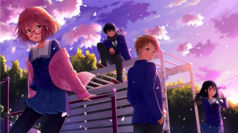 beyond the boundary anime wallpaper