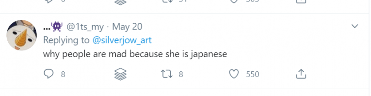 twitter mad japanese sailor moon racism