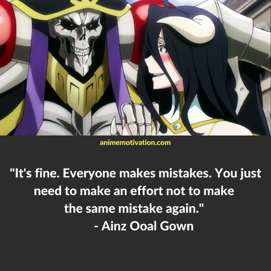 Ainz Ooal Gown quotes 6