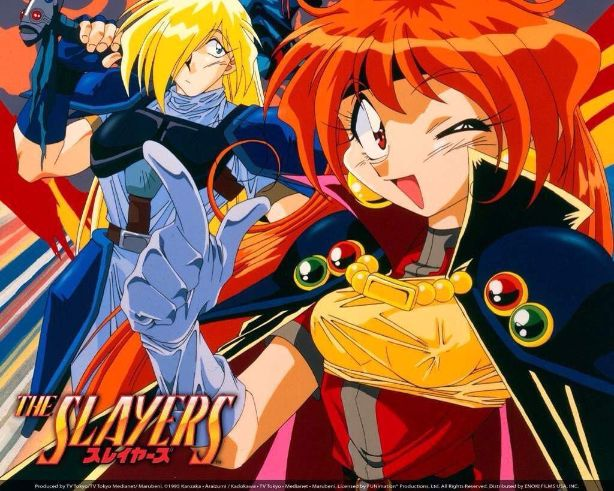 lina inverse and gourry slayers