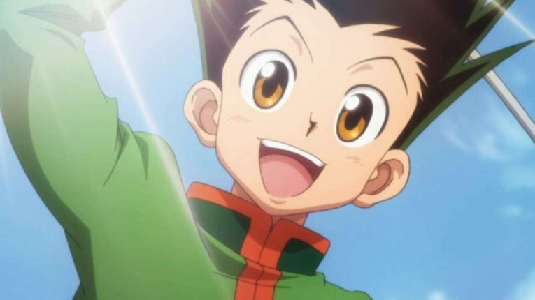 gon hunter x hunter happy