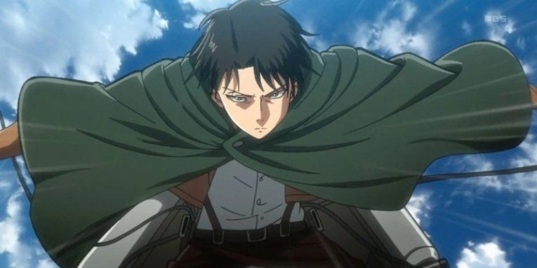 levi ackerman attack on titan anime