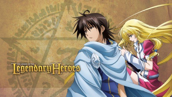 the legend of legendary heroes anime characters