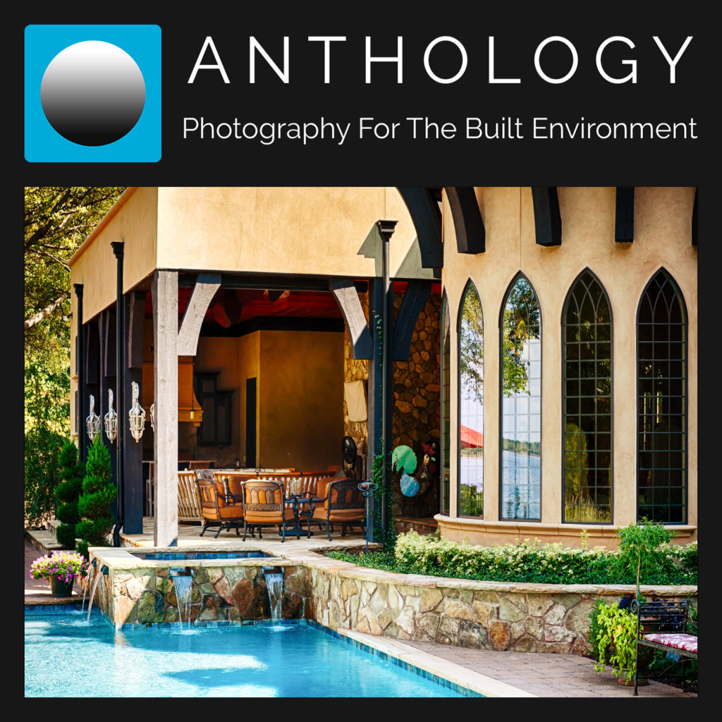 Architectural photography lanai and swimming pool