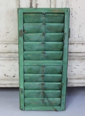 Nice old french shutter.