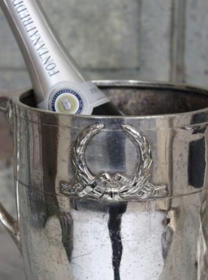 Beautiful old French champagne cooler (heavy)