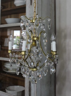 Beautiful Swedish prism chandelier from approx. 1970th