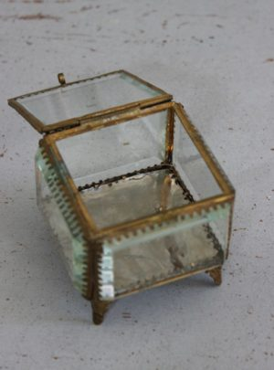 Nice old French jewelry box.