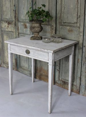 Unique Swedish lady's desk in Gustavian style from 1900.