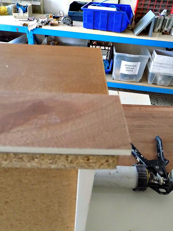 Creating faux drawers