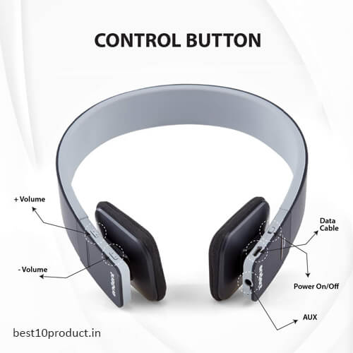 Envent Boombud On The Ear Wireless Bluetooth Headsets