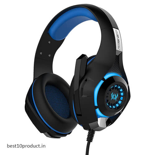 Kotion GS400 Each Over The Ear Headphones With Mic & LED